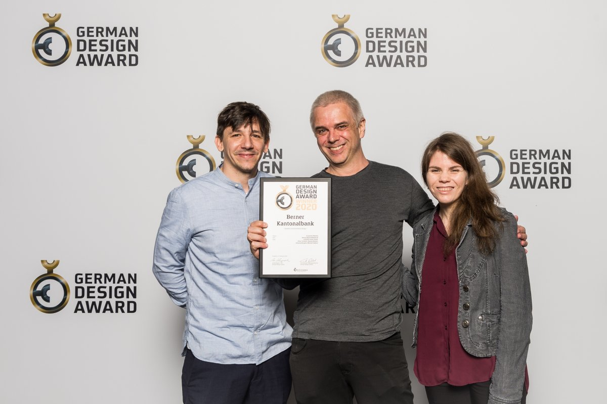 cyledge Team German Design Award 2020